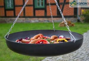 Schwenkwok Stahlpfanne Schwenkpfanne Ø 60 oder 70 cm mit Kette für Stativ