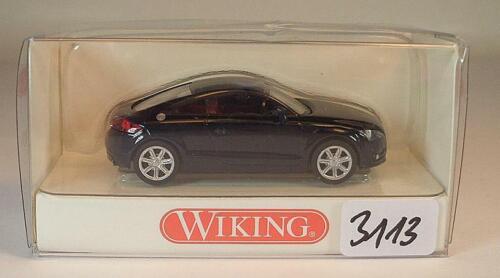Wiking 1//87 nº 134 03 30 audi TT Coupé Negro OVP #3113
