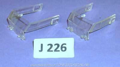 J226 Jouef Hdi Ho/oo 2x Loco Body Cab Glazing Units Suits Sncb Electric 8858