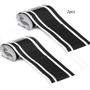 2x Stripes Universal Racing Car Van Side Bonnet Stripes Vinyl Sticker Decal
