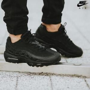 competitive price ec57a 77b0e Image is loading Nike-Air-Max-95-Triple-Black-609048-092-