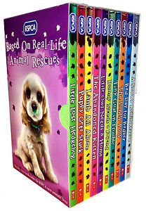 RSPCA-Animal-Rescue-Pets-10-Childrens-Books-Collection-Set-Puppy-Kitten-Pony-New