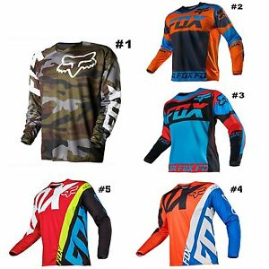 Fox Moto Shirt mountain bike Sprint Jersey / MTB Downhill Jersey ...