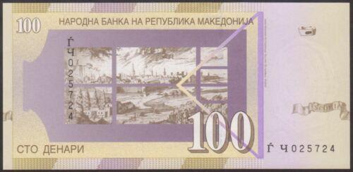 MACEDONIA 100  DENARI  2004 P 16  Uncirculated
