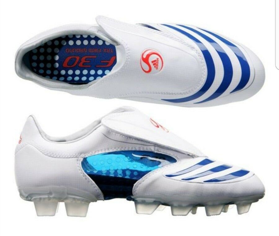 Adidas 2007 Sold out F30.8 Weiß FG Rare UK10.5 supreme vintage quality⚽⚽⚽⚽⚽