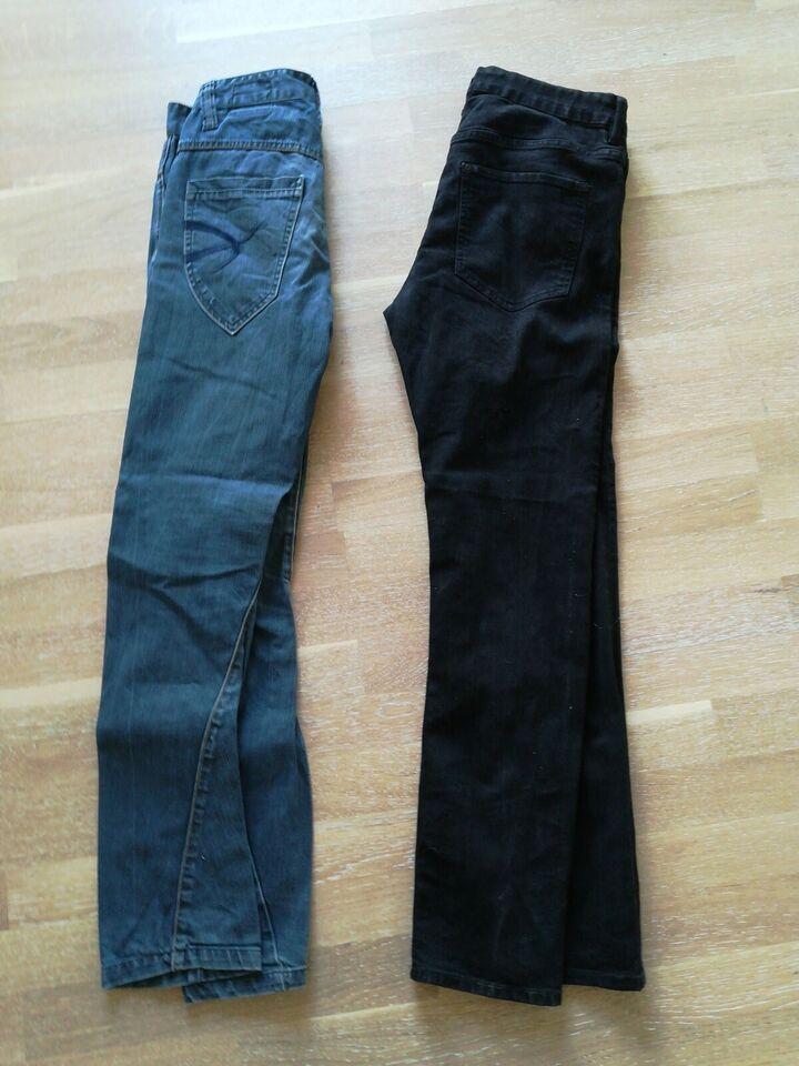 Bukser, Jeans cowboybukser, Outfitters Nation og H&M