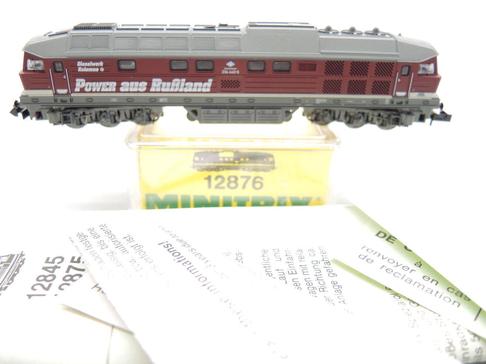 Trix Minitrix, 12876, Diesel BR 234 440-6 delle DR, DR, DR, Power dalla Russia OVP cd0ce9