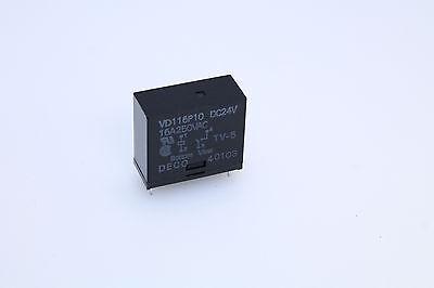 Original MCJSCE-DC24V SPDT 24VDC 10A pc mount sealed relay qty=1