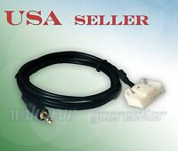 2007&up Toyota Radio 3.5mm 1/8 Audio Input Cable For Prius Tundra Highlander T20