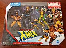 Marvel Universe 3.75 Uncanny X-Men 4 Figure Lot Box Set Rogue Wolverine Longshot