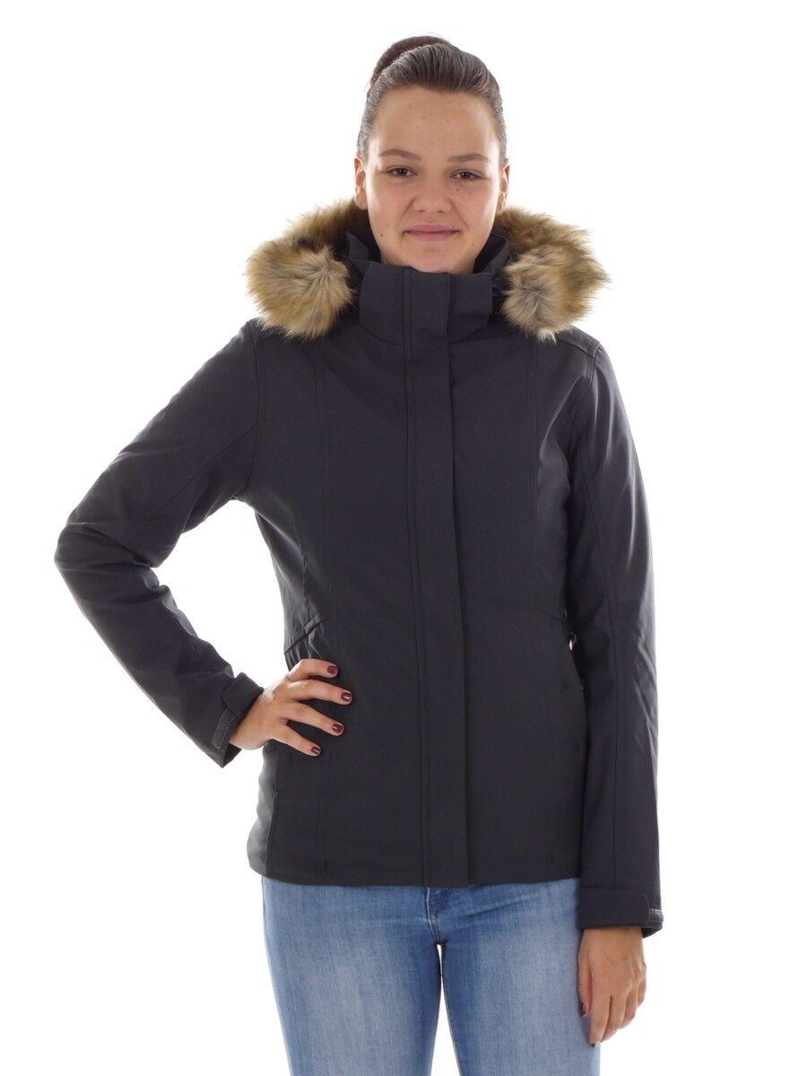CMP Softshelljacke Funktionsjacke Winterjacke grau ClimaProtect® warm
