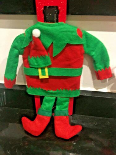 Mrs Santa Claus Elf Wine Bags Xmas Table Christmas Wine Bottle Cover Mr
