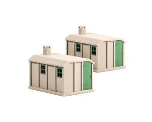 PEC-518-Concrete-Lineside-Huts-2-Ratio-Kit-Buildings-OO-Guage