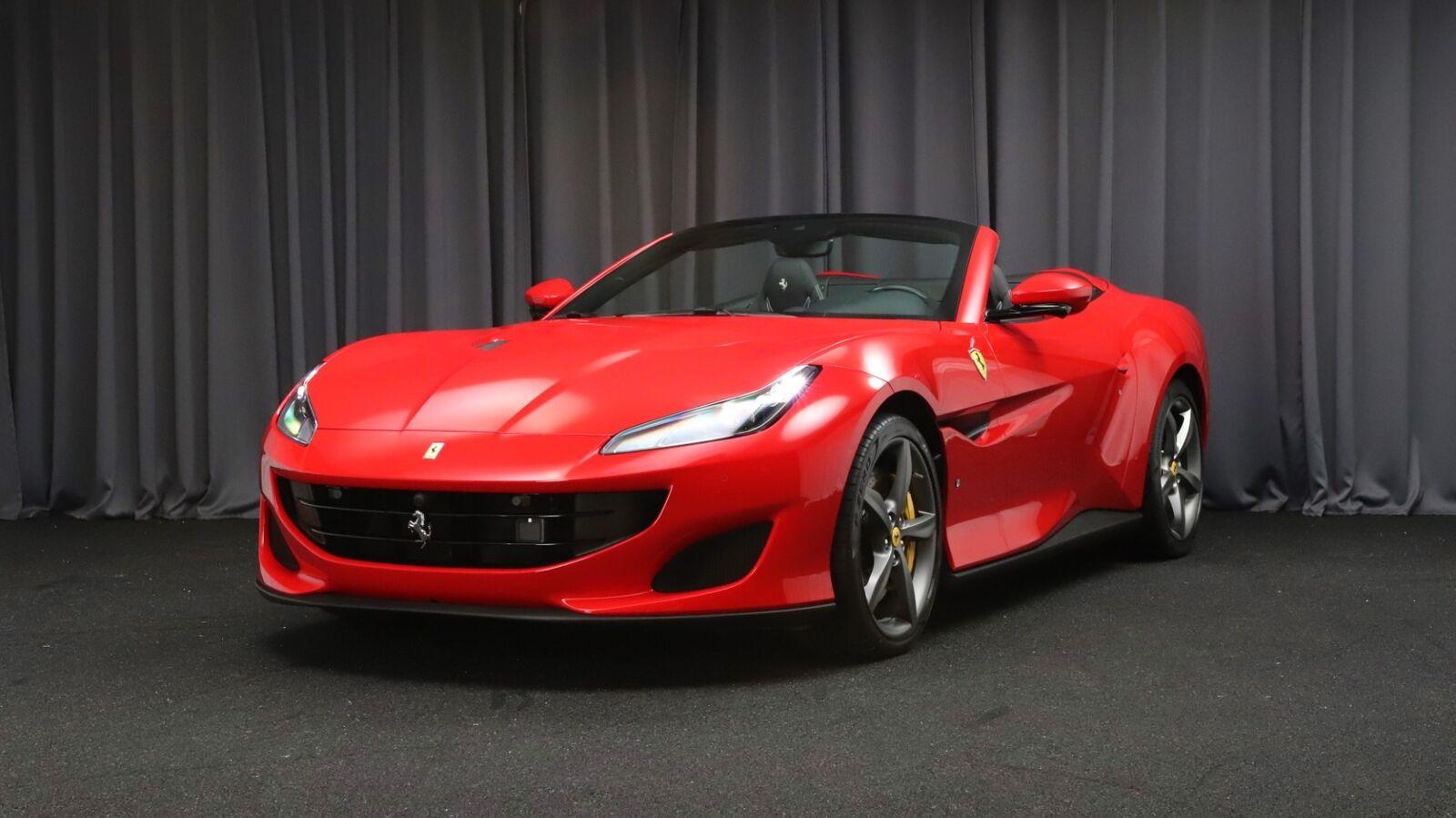 Ferrari Portofino 3,9 DCT 2d - 1.434.810 kr.