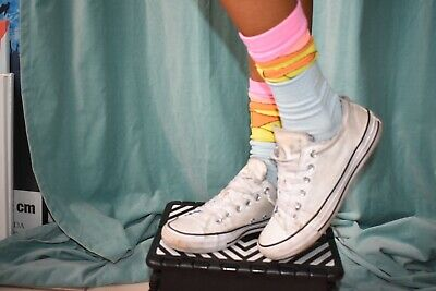 Used Dirty Converse Chuck Taylor All Star Low Top Women Size 7 in White   eBay