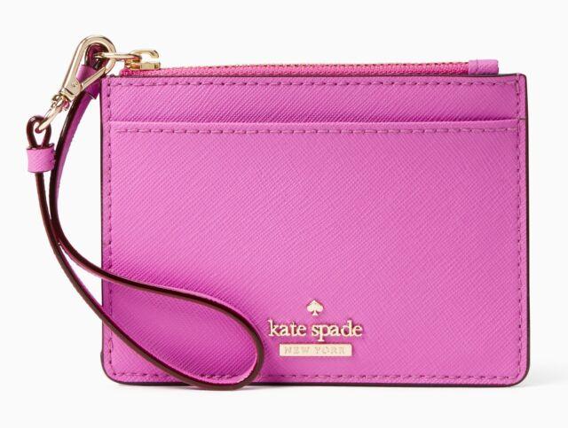 competitive price 7b0d0 f3093 Kate Spade Card Case Key Chain Wristlet Cameron Street Mellody Wallet