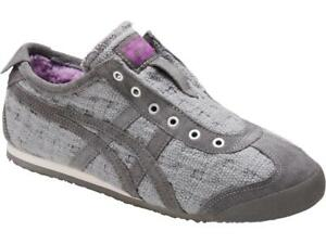 pretty nice 40f25 f52cb Details about NEW WOMENS ASICS ONITSUKA TIGER MEXICO 66 SLIP ON  SNEAKERS-MULTIPLE SIZES