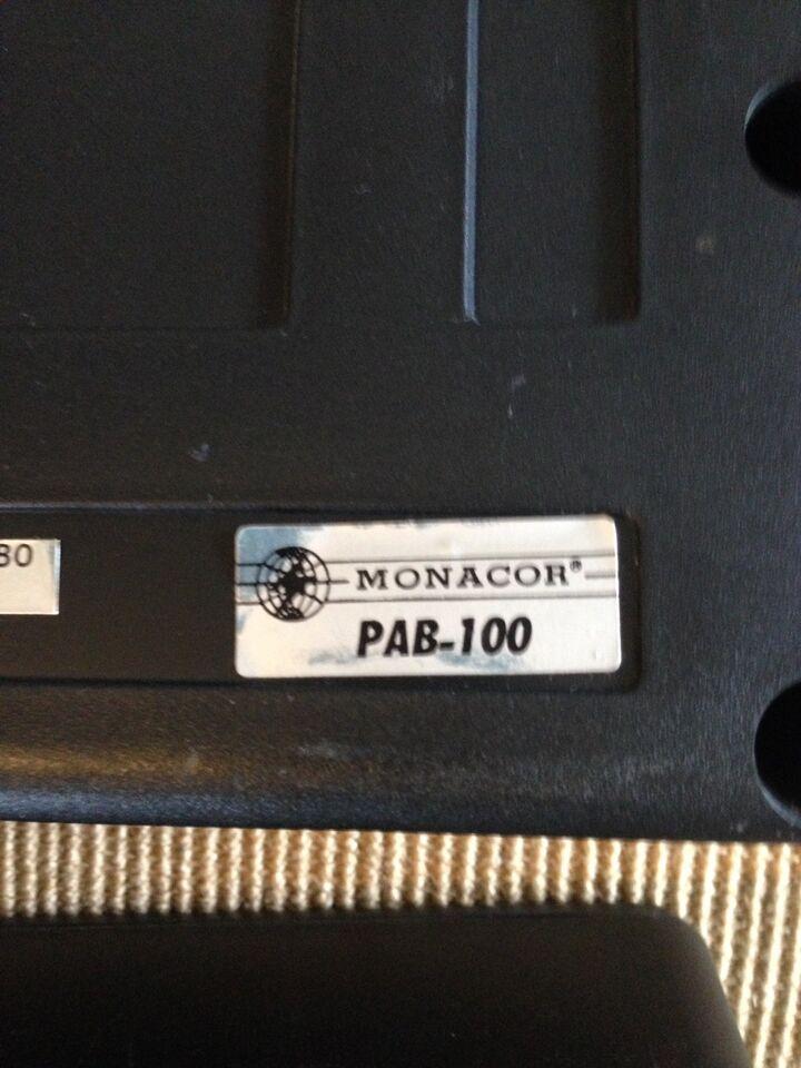 Højttaler, Monacor, PAB-100