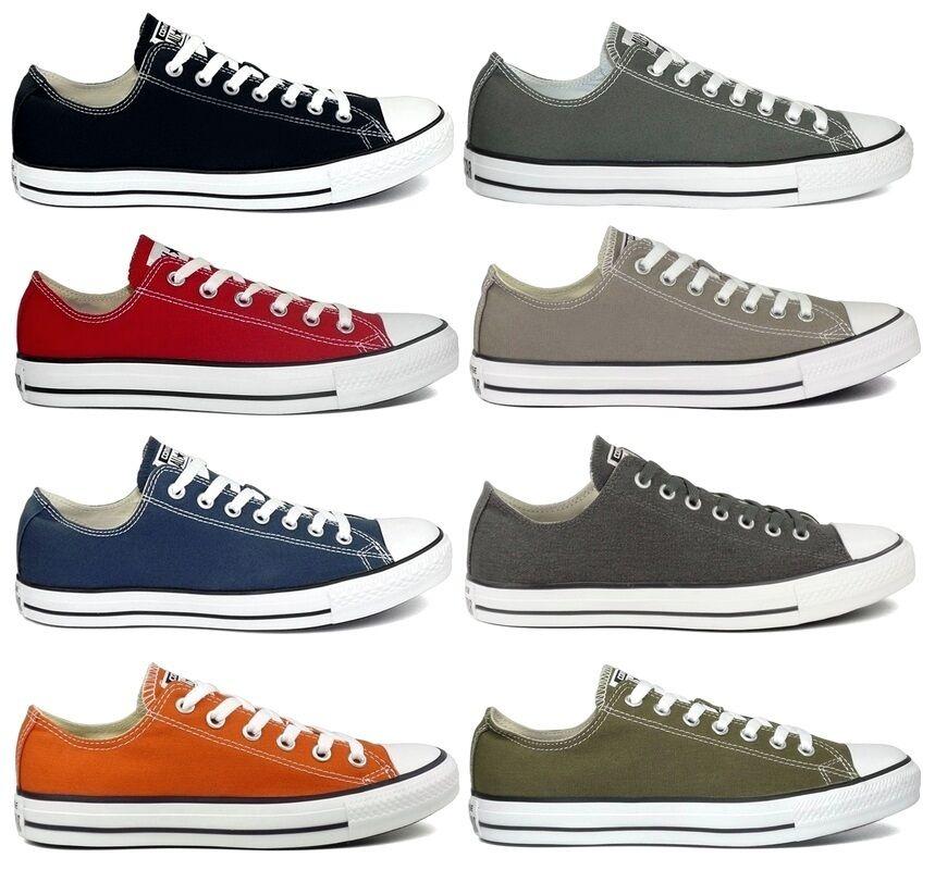 Converse Sneaker All Star Low Chucks Sneaker Converse 39,40,41,42,43,44,45 Azul rot taupe grau 8a2000