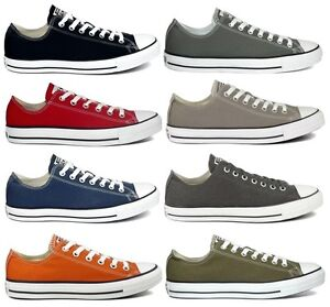 Converse-All-Star-Low-Chucks-Sneaker-39-40-41-42-43-44-45-blau-rot-taupe-grau
