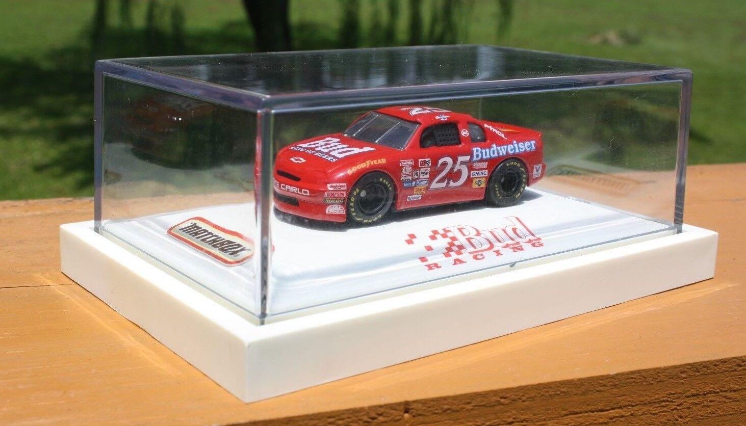 White pink 1 64 1995 Nascar 25 Ken Schrader Bud Racing Ltd. out of 6500