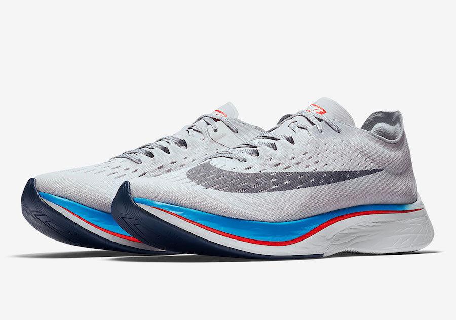 Nike Vaporfly 4% Vast Grey Nike Lab 880847-004 Runner Marathon Runner 7.5