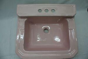 (BS-59) NOS Chinaware Bathroom Porcelain Sink Vintage ...