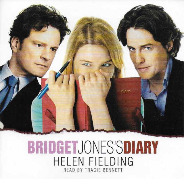 Helen Fielding BRIDGET JONES'S DIARY - CD Audio Book Tracie Bennett