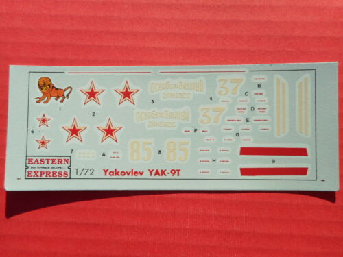 DECALS YAK-9T EASTERN EXPRESS 72227 1//72