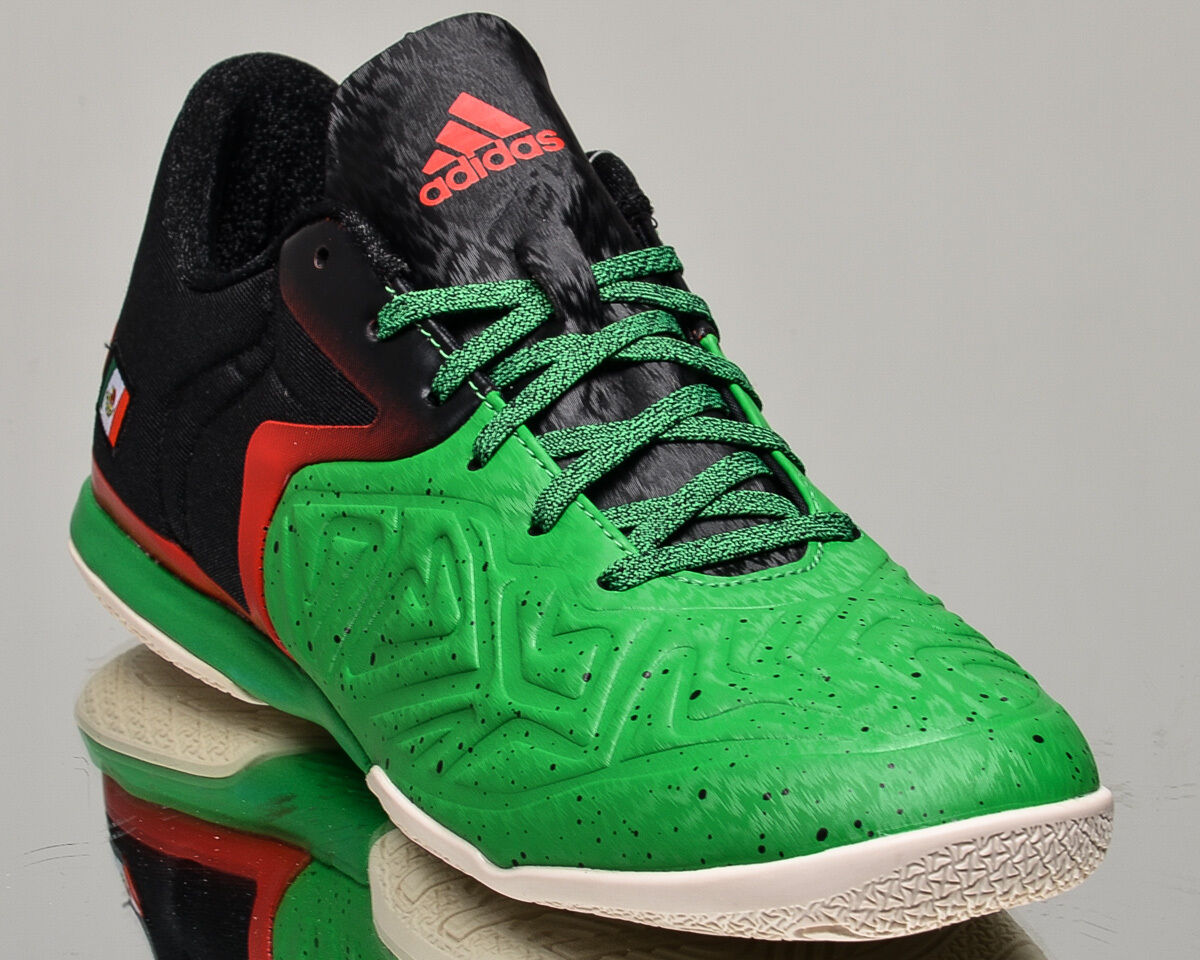 adidas X X adidas 15.2 Court Mexico mens soccer shoes NEW green black red sail AQ2524 f721a8