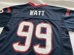 Watt Houston Texans #99 Navy Blue Youth Home Player Jersey J.J
