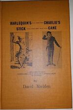 HARLEQUIN'S STICK, CHARLIE'S CANE BY DAVID MADDEN  *FIRST EDITION*