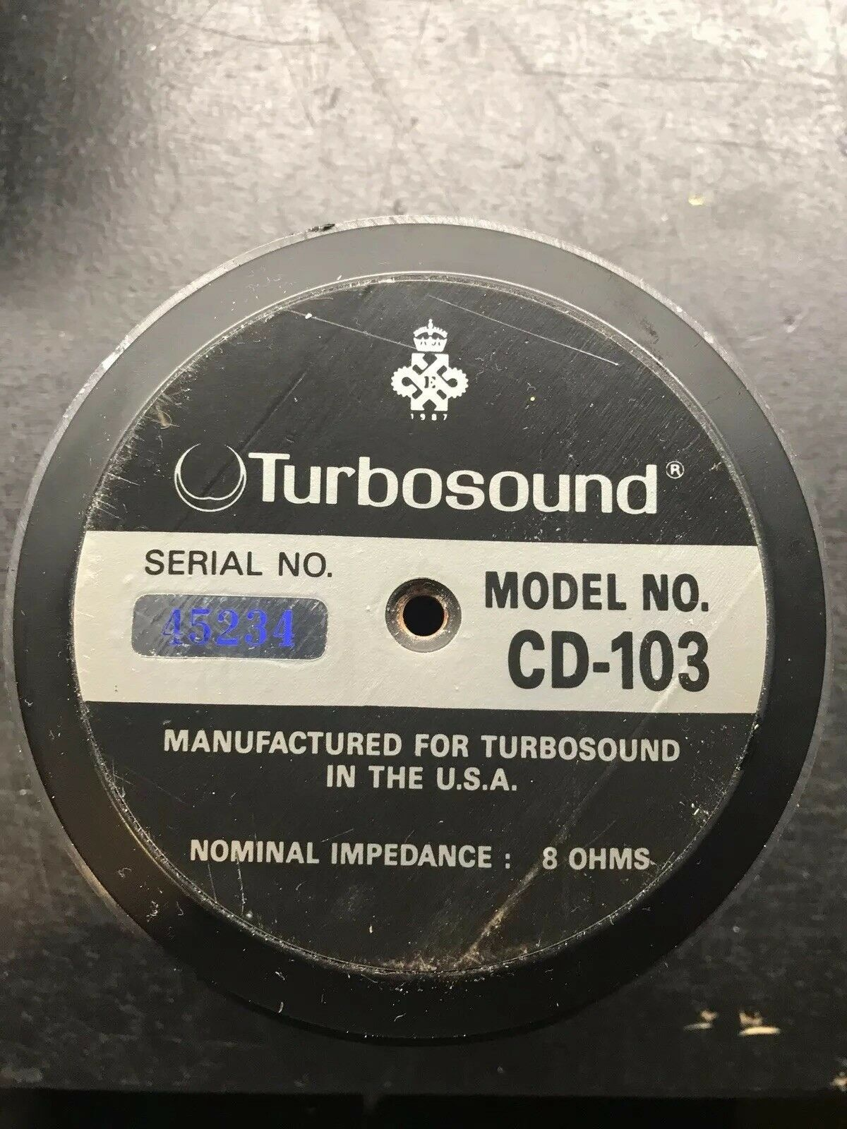 Turbosound CD-103  EV DH-3