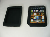 Pandigital Android Though Rubberized Gel Cover Case For R70g100 Ereader Black