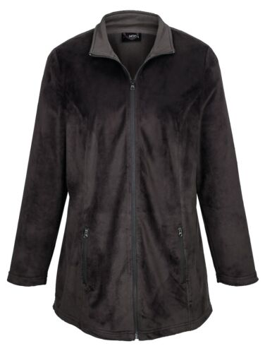50 52 56 58 Funktionsjacke 2 in 1 Jacke Damenjacke Fleecejacke altrosa grau Gr