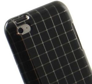 NEW-LUXMO-BLACK-SQUARE-CASE-HARD-COVER-FOR-APPLE-iPOD-TOUCH-4-4G-4TH-GEN