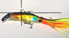 """9.25"""" SQUID JIG TROLLING FISHING LURE SALT WATER"""