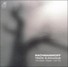 Rachmaninov # Trio Elegiague The Golub Kapian Carr Trio (Arabesque) CD