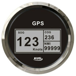 GPS SPEEDOMETER Boat Marine GPS KUS Digital Readout 85mm NEW Model