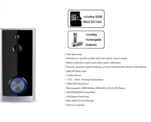 V-TAC-Smart-Doorbell-WiFi-Wireless-Motion-Activated-Video-ring-bell-2-Way-Talk