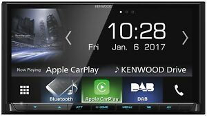 Kenwood-DMX7017DABS-2DIN-DAB-Bluetooth-Apple-CarPlay-Android-Auto