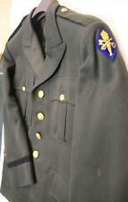 USA - VAREUSE D'OFFICIER type GREEN avec insigne de bras