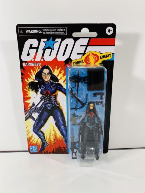 Hasbro 2020 GI Joe Baroness 3.75 Inch Retro Figure Walmart Exclusive New MINT