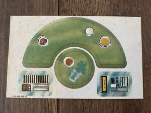 STAR WARS CREATURE CANTINA UNUSED DECAL SHEET VINTAGE KENNER ANH 1979 LUKE R2D2