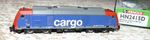 HS Arnold HN2415D Diesellokomotive  Baureihe 245  der SBB Cargo DCC digital