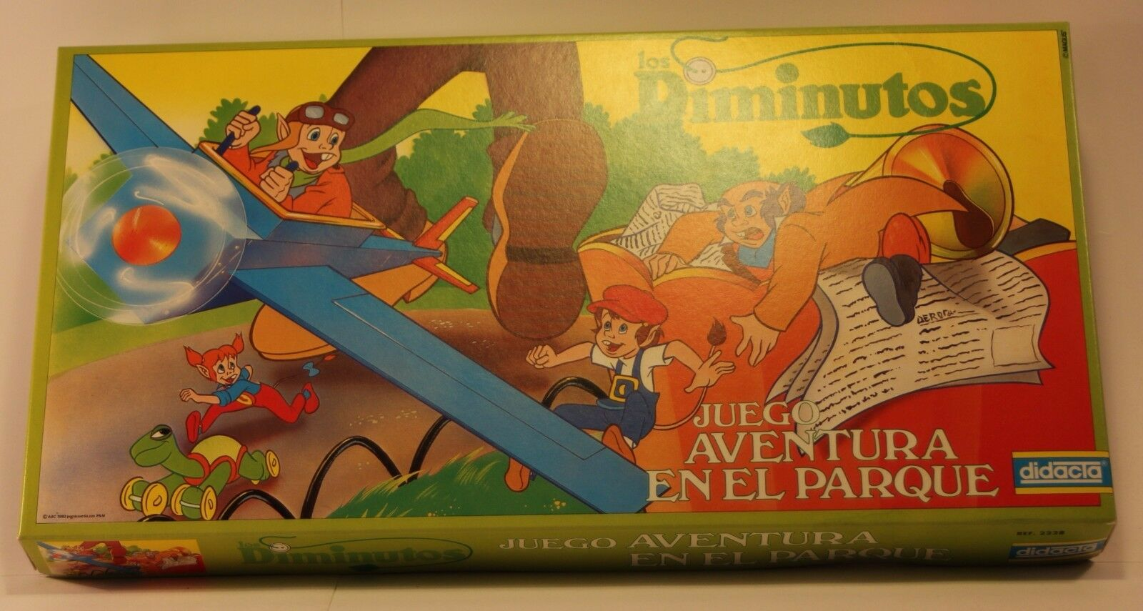 1983 Didacta THE LITTLES vintage Spanish board game new & complete VERY RARE