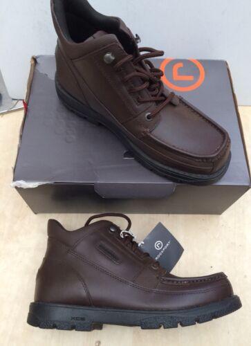 Rockport XCS Size 38.5 Brown Leather Boots APM37854 Marangue 5