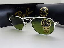 RayBan B&L W1840 Classic Silver Arista Sunglasses NOS *Unisex Small*