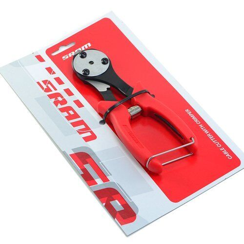SRAM Cable Cutter with End Cap Crimper