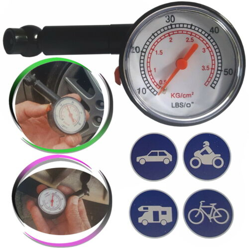 Presión de inflado del neumático revisor presión neumáticos medidor de neumáticos luftdruckprüfer medir presión atmosférica